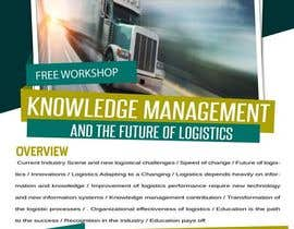 #15 untuk Design a Flyer for a Logistics Workshop oleh knims