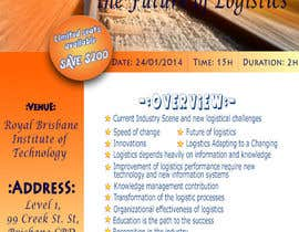 #22 for Design a Flyer for a Logistics Workshop by Kanchana9