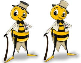 #13 cho I need a cartoon-style illustration of a Bee bởi swati14