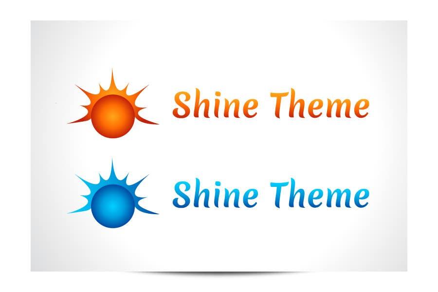Inscrição nº 96 do Concurso para Design a Logo for Shine Theme