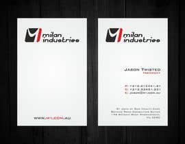#13 untuk Stationery Design for Milan Industries Pty Ltd oleh F5DesignStudio