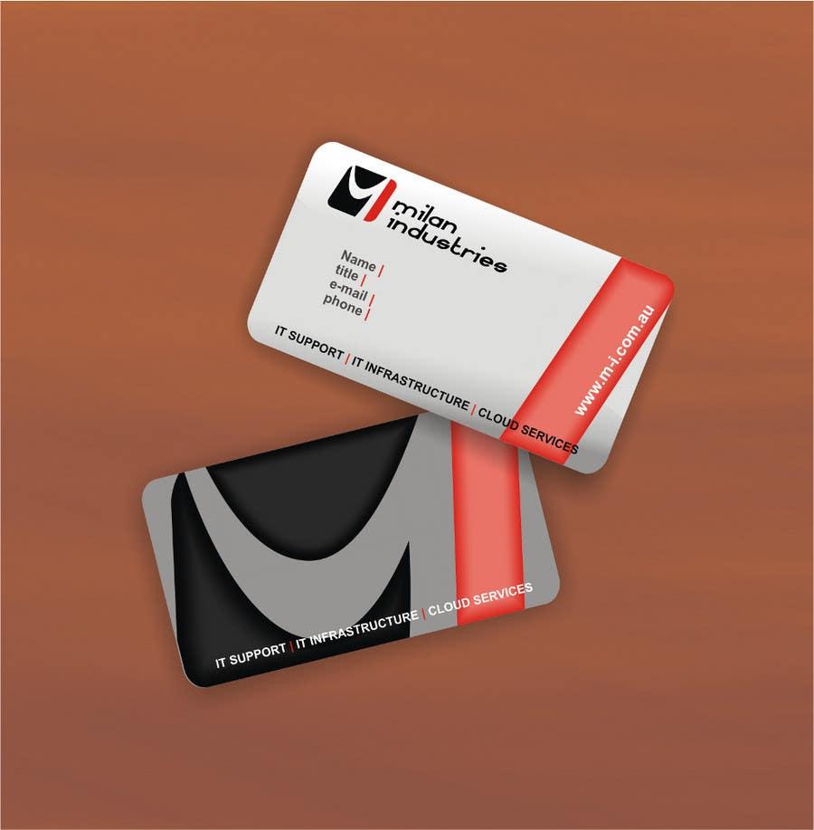 Penyertaan Peraduan #                                        1                                      untuk                                         Stationery Design for Milan Industries Pty Ltd