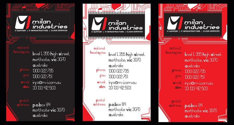 #36 for Stationery Design for Milan Industries Pty Ltd by mhc83