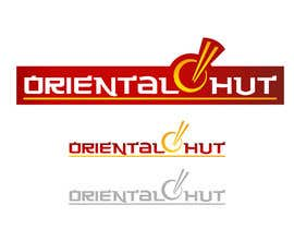 Grupof5 tarafından Design a Logo for the brand name 'Oriental Hut' için no 37
