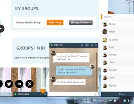 nº 17 pour Design a Chat system like Facebook Chat par badhon86