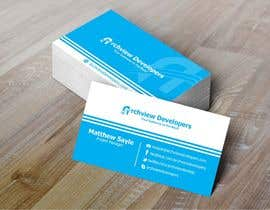 #16 untuk Design some Business Cards for Archview Developers oleh Asifrbraj