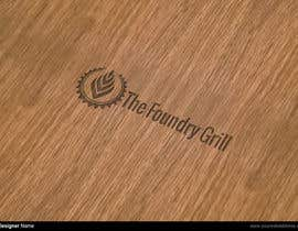 nº 35 pour Design a Logo for The Foundry Grill par manuel0827