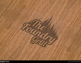 nº 37 pour Design a Logo for The Foundry Grill par manuel0827