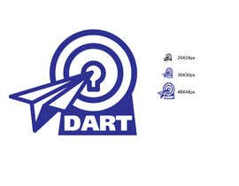 nº 23 pour Design a Logo for the Dart mobile app par davidliyung