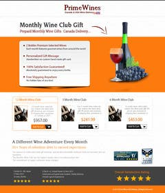 nº 9 pour Design an Advertisement for Monthly Wine Club par kreativeminds