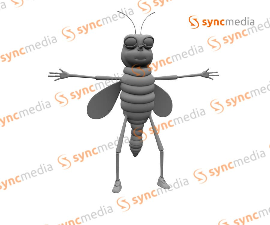 #6 for 3D Character Modelling by syncmedia