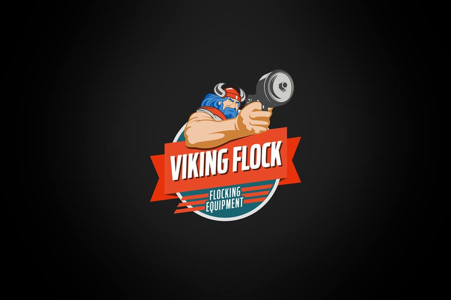#15 for Design a logo for Vikingflock by kamikira