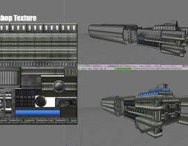 #5 para Concept Art for existing 3D space ship model for SciFi Game por vikasjain06