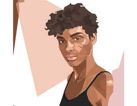 Nro 24 kilpailuun Illustrate Geometric Fashion Portraits käyttäjältä BubaBuba