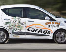 #13 untuk Car Ad Mock-up oleh bluedartdesigner