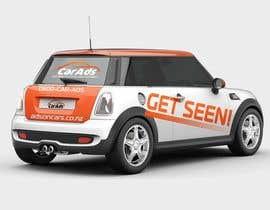 #37 untuk Car Ad Mock-up oleh alkalifi