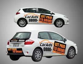 #24 untuk Car Ad Mock-up oleh dulphy82