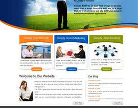 nº 53 pour Website Design for Simply Good Websites Ltd. par alimoon138