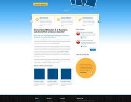 #67 untuk Website Design for Simply Good Websites Ltd. oleh gfxpartner