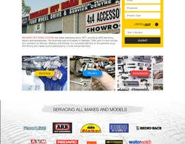 ksmahesh tarafından Home page and one sub page designed in PSD for Four Wheel Drive Mechanic Workshop için no 25