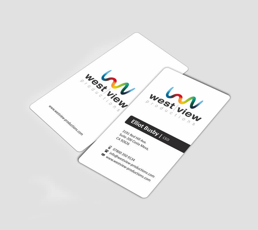Entry #25 by ezesol for Design a business card for a video ...