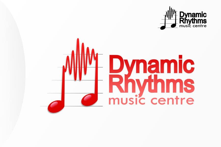 Kilpailutyö #122 kilpailussa Logo Design for Dynamic Rhythms Music Centre