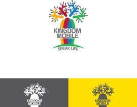 EcoDesignstu tarafından KINGDOM MOBILE Logo Design Contest için no 30