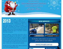 #41 untuk Design a Christmas (Santa etc) Flyer to promote our services oleh nanakoaramaki