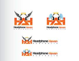 GeorgeOrf tarafından Design a Logo for Headphone Haven için no 74