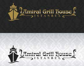 Nro 18 kilpailuun Design a Logo for Amiral Grill House käyttäjältä ELDJ7