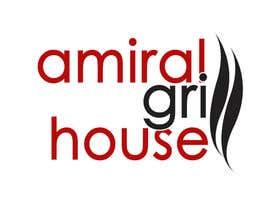 Nro 7 kilpailuun Design a Logo for Amiral Grill House käyttäjältä hectorvalerog69