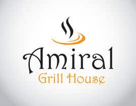 Nro 5 kilpailuun Design a Logo for Amiral Grill House käyttäjältä alchemoth