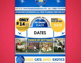 #37 for Design a Flyer for Pet and Family Photography Business by karunrams