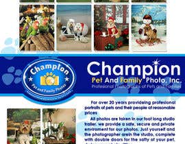 #59 cho Design a Flyer for Pet and Family Photography Business bởi atomixvw