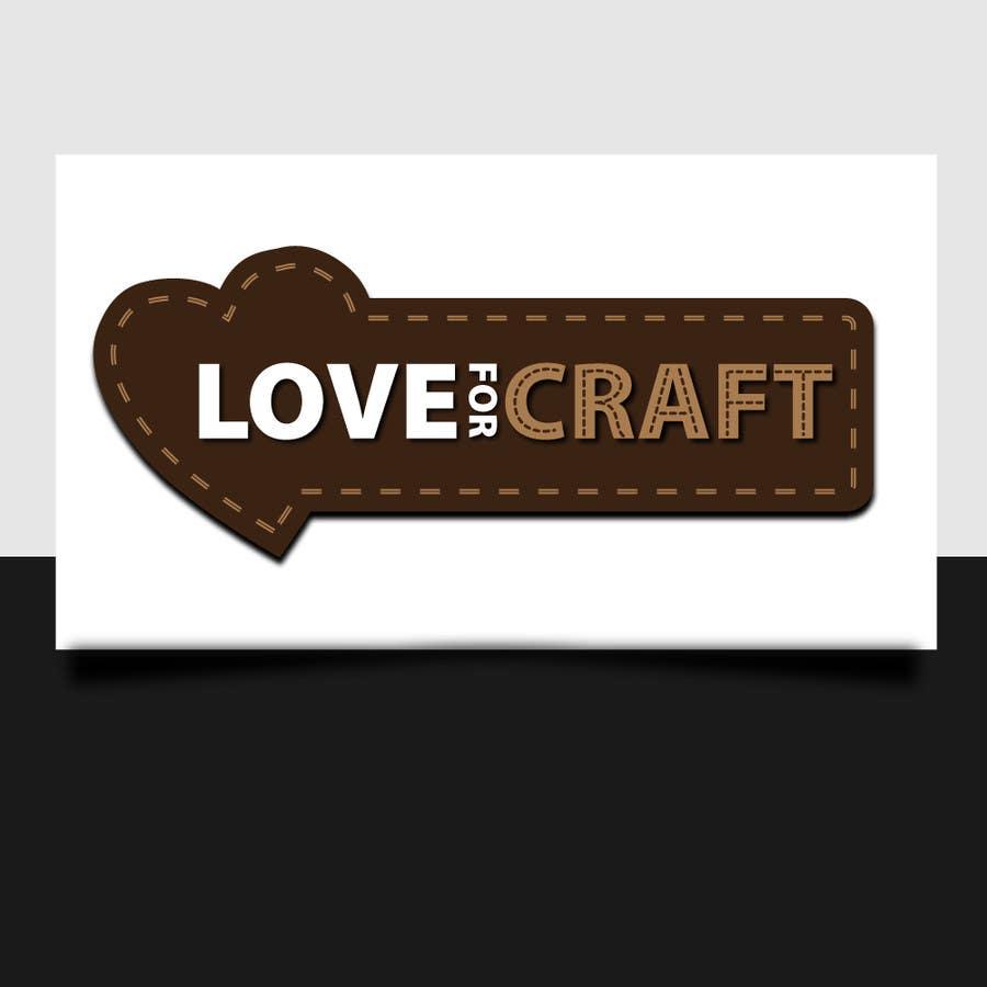 Penyertaan Peraduan #24 untuk Design a Logo for Love of Crafts