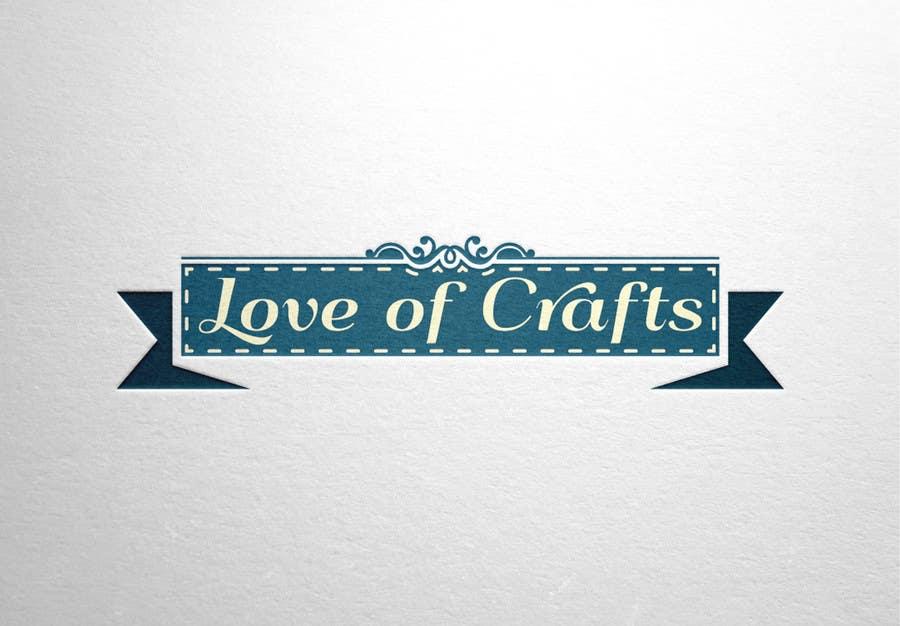 Penyertaan Peraduan #42 untuk Design a Logo for Love of Crafts