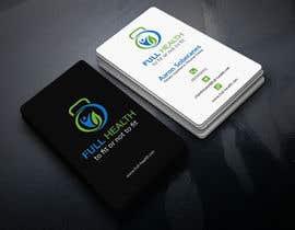 Nro 26 kilpailuun Design come Cool Business Cards for Full Health käyttäjältä AhamedAntur
