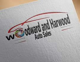 Nro 5 kilpailuun Design a Logo for Woodward Harwood Auto Sales käyttäjältä mehedi580