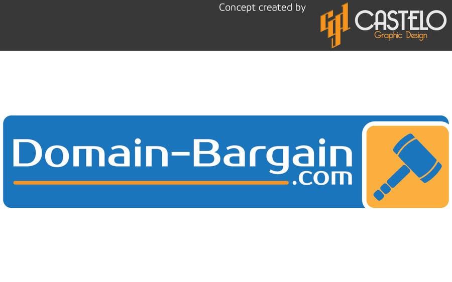 Penyertaan Peraduan #75 untuk Design a Logo for Domain-Bargain.com