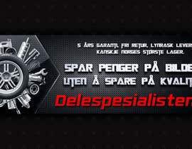 Nro 49 kilpailuun Design banner for car parts 980x300 käyttäjältä riteshparmar79