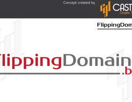 #63 for Design a Logo for FlippingDomains.biz af CasteloGD