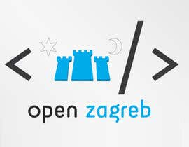 #12 for Design a Logo for Open Zagreb af outes