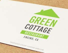 mohdkasimnazeer tarafından Design a Logo for our 'Green Cottage Restaurant' için no 810