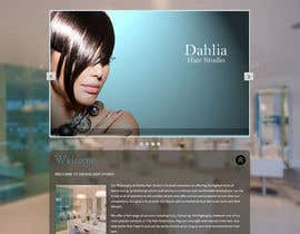 nº 18 pour Design a Website Mockup for Hair Extension business par sbhf