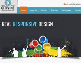 #13 untuk 1 Front Page PSD Files - Very Creative Re-design oleh web92