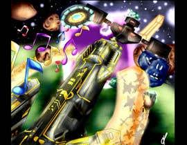 Nro 19 kilpailuun Design / Draw Artwork for Space Shooter game käyttäjältä myjobsljc