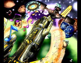 Nro 26 kilpailuun Design / Draw Artwork for Space Shooter game käyttäjältä myjobsljc