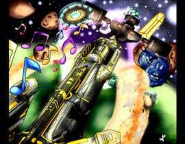 Nro 27 kilpailuun Design / Draw Artwork for Space Shooter game käyttäjältä myjobsljc