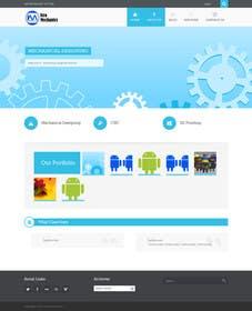Nro 34 kilpailuun Design a Wordpress Mockup for my mechnical site käyttäjältä fathimak