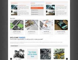 #12 for Design a Wordpress Mockup for my mechnical site by ayancreative8